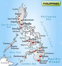 Luzon Map Map Of Philippines As An Overview Map In Gray Royalty Free