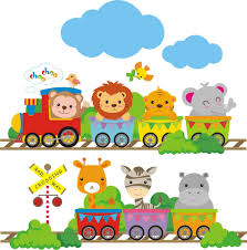 personalized safari train wall decal jungle animals train wall infantil buscar con google
