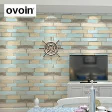 panneau mural pour cuisine moderne texturé brique papier peint au mur vinyle bois panneau mural