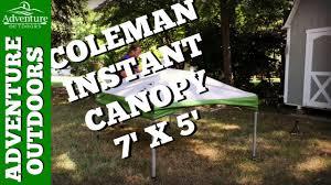 10 X 5 Canopy by Coleman 7 U0027 X 5 U0027 Instant Canopy Great Beach U0026 Tailgating Canopy