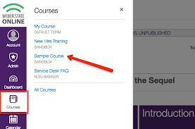 Service Desk Courses How To Crosslist Canvas Courses