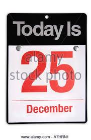 day calendar icon 25 december stock photo royalty free
