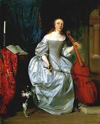 Blind Violinist Famous Nicolas Régnier Blind Homer Playing The Violin 17th Century
