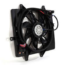 chrysler pt cruiser radiator fan radiator fan and motor new for 06 10 chrysler pt cruiser