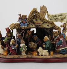 boyds bears light up nativity scene by the danbury mint ebth