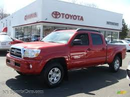 Toyota Tacoma Double Cab Roof Rack by 2010 Toyota Tacoma V6 Sr5 Double Cab 4x4 In Barcelona Red Metallic