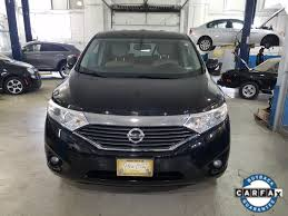 nissan minivan used one owner 2014 nissan quest sl chicago il new city alfa