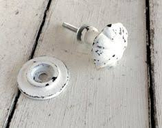 shabby chic knobs white shabby chic dresser knobs by honeywoodhome