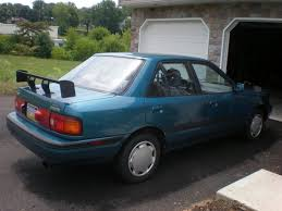 1993 mazda protege information and photos zombiedrive