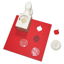 martha stewart crafts st and punch pack ornaments