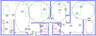 layout floor plan casas smart home floor plan and sensor layout the location of each