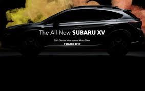 crosstrek subaru 2017 subaru prepares to reboot the crosstrek with less weight and a