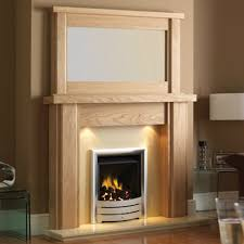 interior wooden fireplace mantel enhances warm nuance in natural