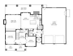 4 car garage size 4 car garage house plans garage plan ndg1487 main floor 4 car house