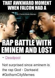 Eminem Rap God Meme - 25 best memes about lost meme memes and rap lost meme