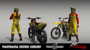 motocross bike gear timelapse making mx vs atv reflex gear skin pastrana nitro circus