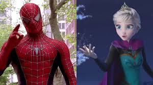 Spiderman Cancer Meme Generator - spiderman vs elsa videos have taken over youtube and it s so confusing