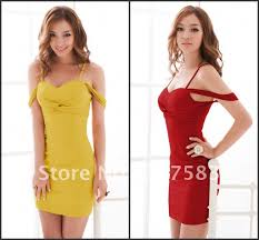 a779 free shipping women chic dress off shouler collar party