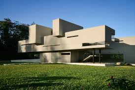 stunning architectural of a modern concrete house design with