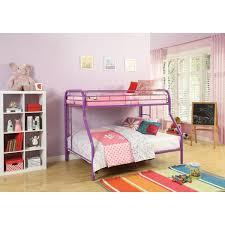 Purple Bunk Beds Acme Purple White Metal Tritan 02053 Bunk Bed