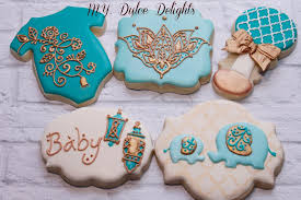 moroccan baby shower henna baby shower cookies cookie connection