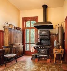 Kitchen Cabinet 1800s A Period Perfect Victorian Kitchen Cast Iron Stove Cupboard And