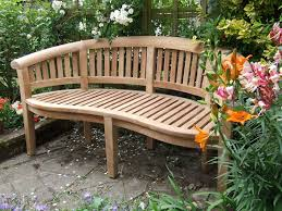 Outdoor Bench Seat Designs by Chic Curved Garden Bench Seat 25 Best Ideas About Curved Outdoor