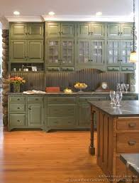 Green Cabinetsif You Choose The Country Look The Bead Board Is - Green cabinets kitchen