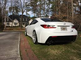 lexus rc f stance rc f on 20