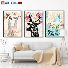 Kawaii Home Decor by Compare Prices On Kids Animal Posters Online Shopping Buy Low