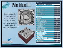 palm island iii from bahama spas bahama spas pinterest