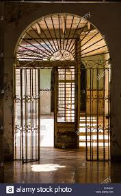 Colonial Interior by Interior Of A Colonial House Trinidad Cuba Stock Photo Royalty