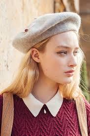barret hat wool blend beret hat 4 colours miss patina vintage inspired