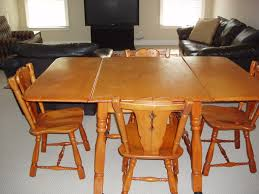 Maple Drop Leaf Table Maple Drop Leaf Table And 4 Chairs For Sale Antiques