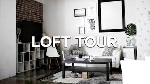 loft apartment tour 2016 downtown los angeles youtube
