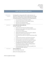 internal audit resume inspirational audit manager resume