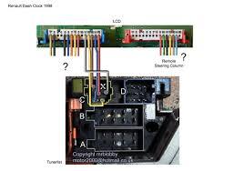 1998 dashboard display unit wiring help needed renault forums