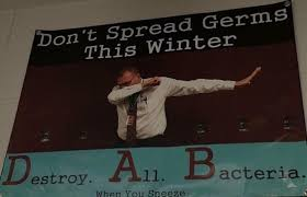 Sneeze Meme - principal to students dab on em when you sneeze