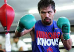 Watch Manny Pacquiaos exclusive training video at Wild Card Gym.