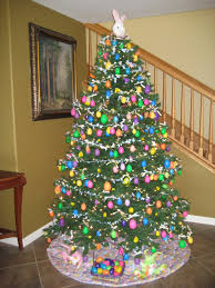 Decoration Round Christmas easter tree easter tree cute decorating ideas easter my