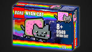 Nyan Cat Meme - nyan cat and other memes become potential lego sets me gusta