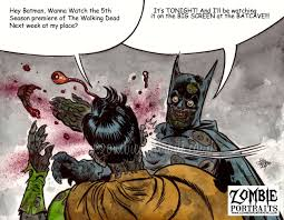 Meme Zombie - zombie batman meme walking dead season 5 zombie art by rob sacchetto
