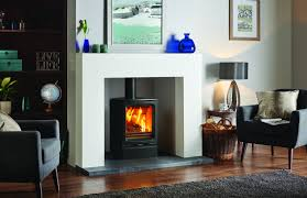 stovax vogue midi wood burning eco stove with cast iron top plate