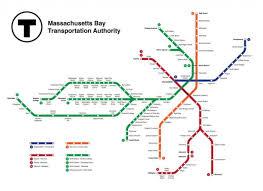 Map Green Line Boston by Subway Map Boston Subway Boston Map United States Of America