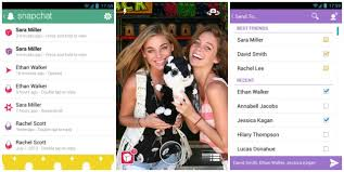 snapchat for android snapchat for android gets new holo fied ui in update
