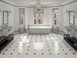 bathroom white tile bathroom floor 23 hexagonal white tile floor