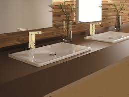 Touchless Bathroom Faucets by Gold Plated Sensor Faucets