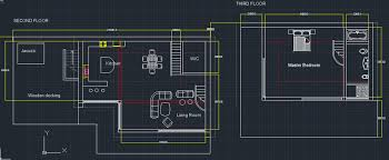 floor plan using autocad autocad 2012 hill house 2nd and 3rd floor plans by wi11iams11 on
