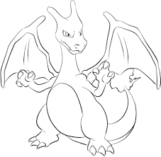 charizard coloring free printable coloring pages