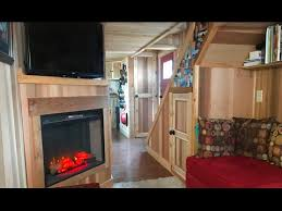 two bedroom tiny house beautiful tiny house with 3 bedrooms 2 baths fireplace youtube
